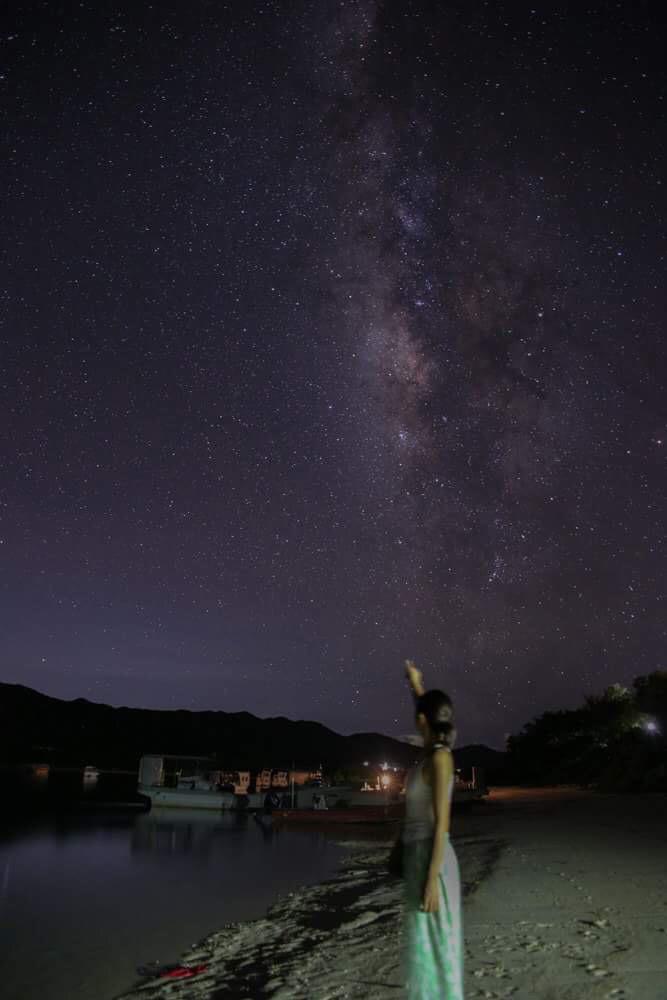 夜の川平湾