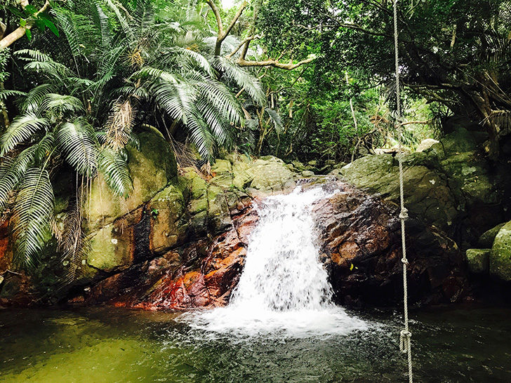 荒川の滝1