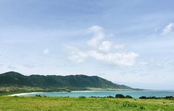 明石牧場の海