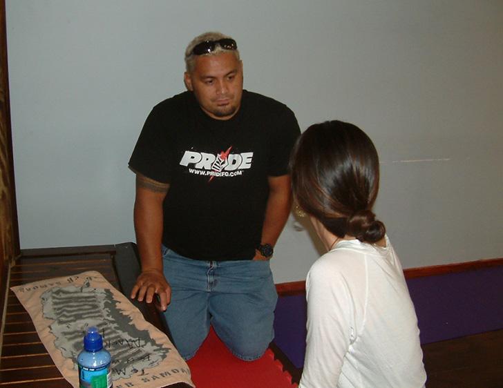 2006年頃マーク・ハントに会った写真2