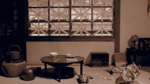 戦時中の窓